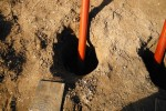 Playground Foundation Post Holes