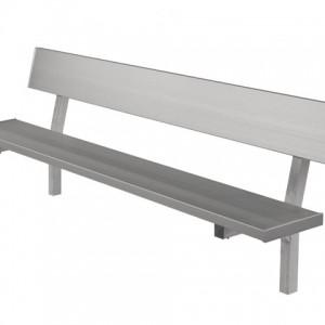 129-1010 Aluminum Bench