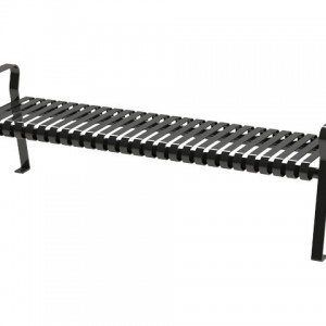 526-1101 Backless Bench Steel Strap