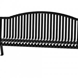 526-1102 Steel Strap Arch Bench