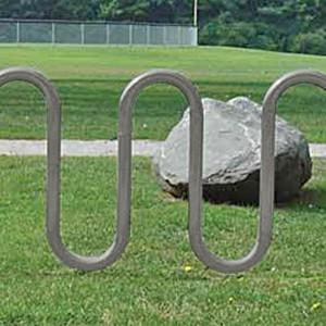 526_1005 Galvanized Bike Rack